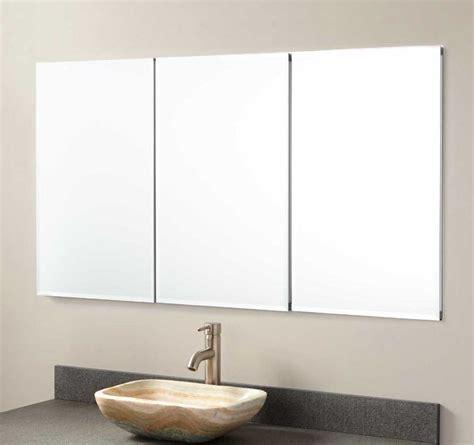 Bathroom Recessed Medicine Cabinets With Mirror Home Mirrored Bathroom Cabinet With Shelves