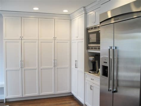 frameless kitchen cabinets frameless white kitchen traditional kitchen new york