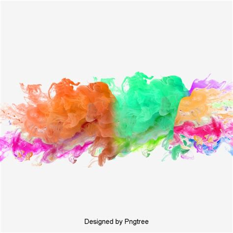 color from image smoke color watercolor png and psd file for free