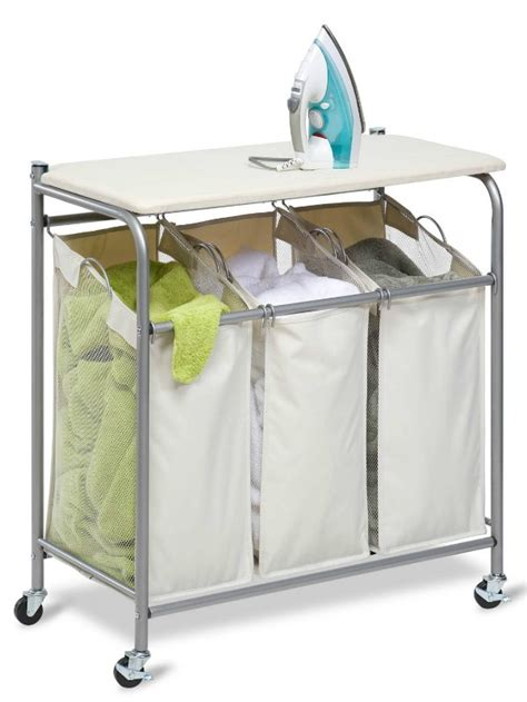 Ironing Board Storage Ideas Organizing Solutions For Laundry With Ironing Board