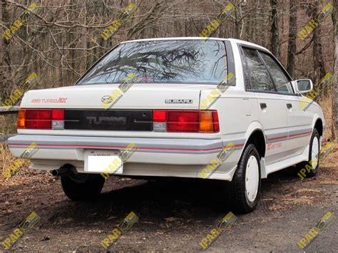 subaru loyale interior tapa interior de espejo izquierdo subaru loyale 1988 1989