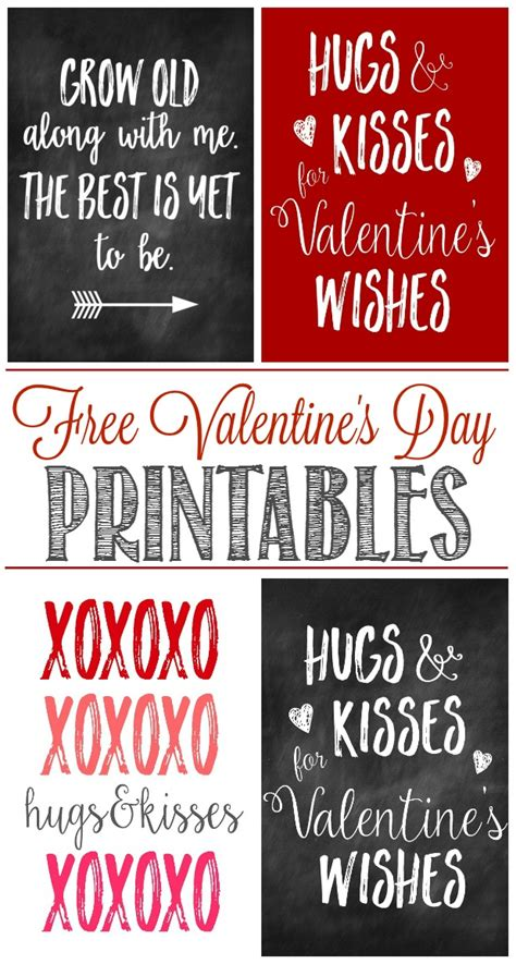 valentines day free printables free s day printables clean and scentsible