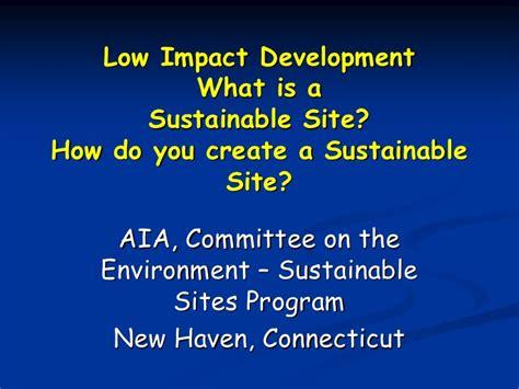 design for environment slideshare environmental site design
