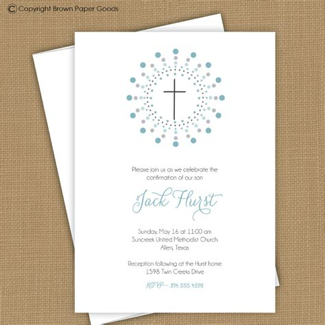communion invitation template confirmation invitations template best template collection