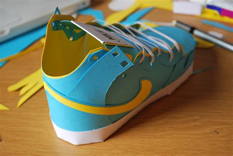 How To Make Shoes From Paper - paper shoes by davidbrownings speaks