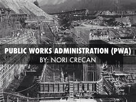 themes of new public administration public works administration by norbert crecan