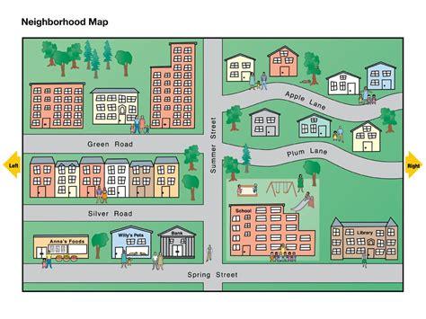 map of neighborhoods 2 neighborhood map national geographic society