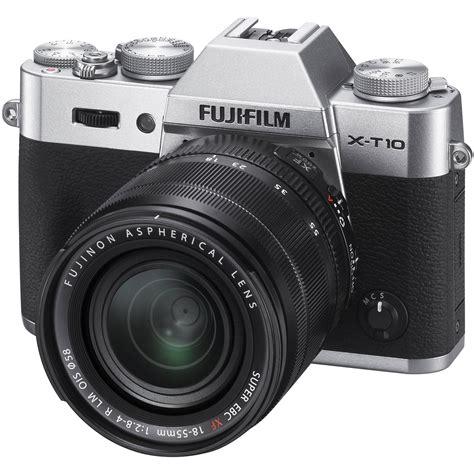 fuji mirrorless fujifilm x t10 mirrorless digital with 18 55mm 16471574