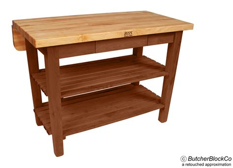 boos kitchen island bar butcher block table