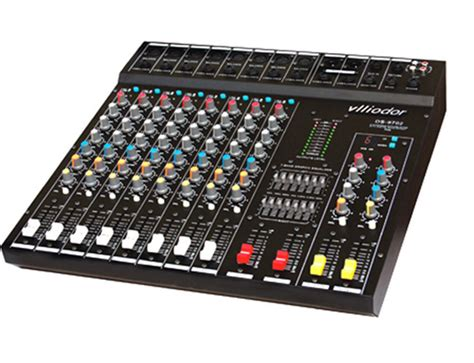 Mixer Audio Sound Sistem 8 channels audio mixer sound system professional dj mixer mesa de mezclas usb lcd display for