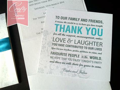 wedding thank you poems wedding card malaysia crafty farms handmade wedding