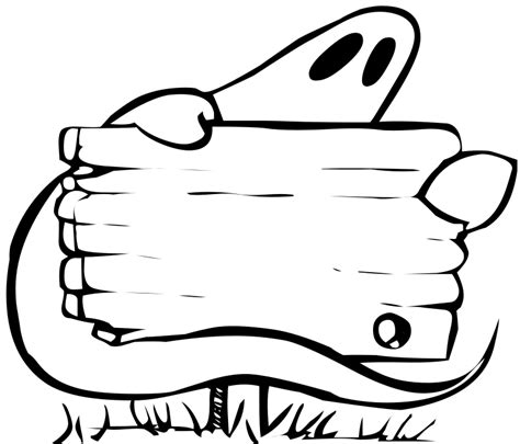 blank halloween coloring pages ghost free stock photo illustration of a ghost behind