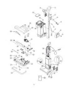 sanitaire sc6600a vacuum parts