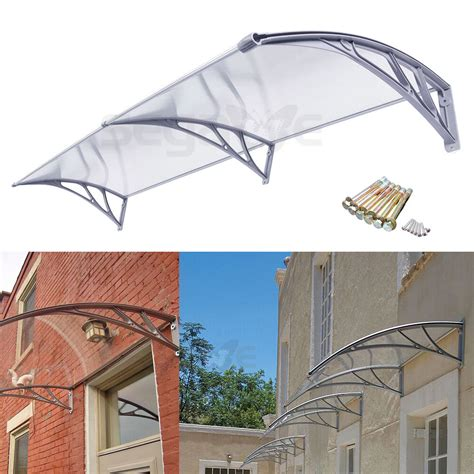 awning umbrella diy polycarbonate awning for door window door house canopy