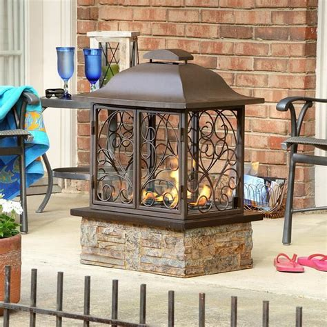 portable patio fireplace indoor outdoor portable gel slate fireplace new