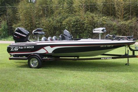 bass boat nitro z6 bass boat - Nitro Z6 Bass Boats For Sale