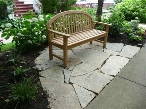 Small Flagstone Patio by Small Flagstone Patio In Front Of Home Makes A Great Place