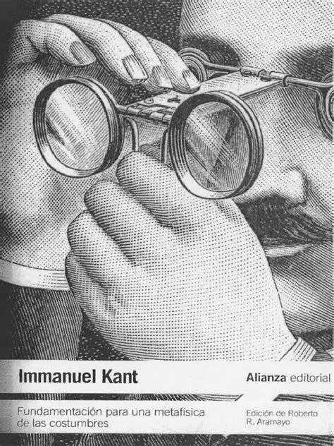 fundamentacin para una metafsica fundamentacion para una metafisica de las immanuel kant pdf