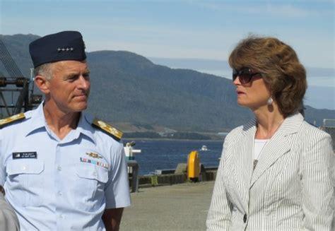 us army david a christian uscg commandant visits ketchikan base krbd