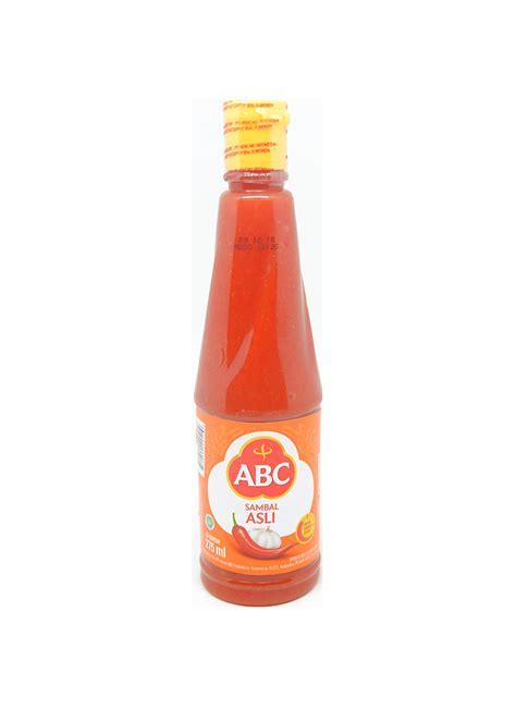 abc sambal asli ml klikindomaret