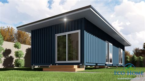 single bedroom house sch2 2 x 40ft single bedroom container home eco home designer