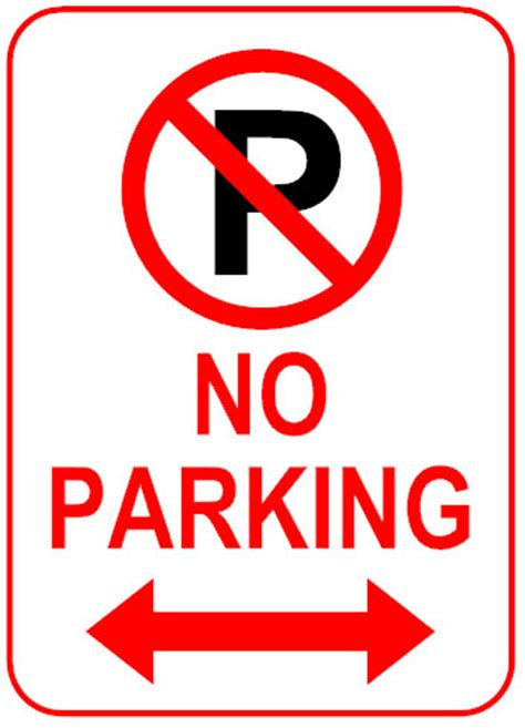 no parking signs template sign how to create effective signs