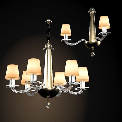 Donghia Modern Contemporary 3d Model Donghia Chandelier