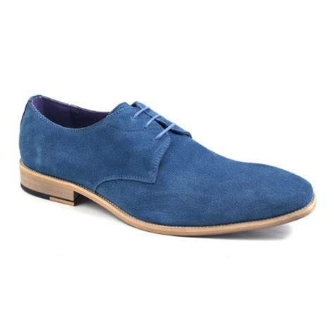 Promo Footstep Costa Brown Derby Boots Loafers Footstep shop mens blue suede derby gucinari style