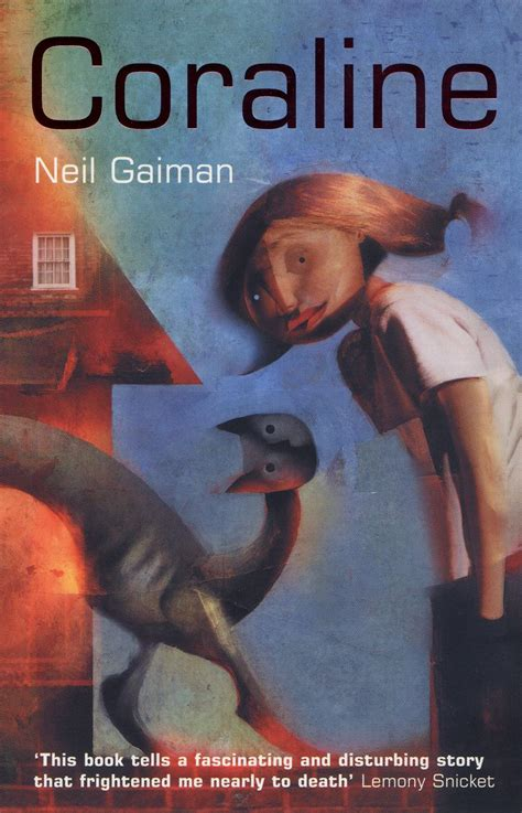 coraline book pictures author of the month neil gaiman library