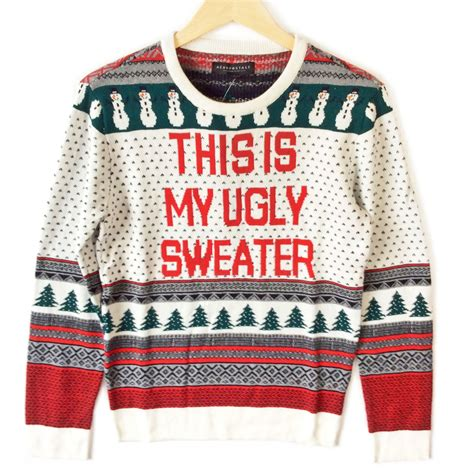 tacky sweater this is my sweater fair isle tacky