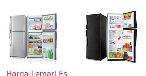Harga Lemari Es Sanken Satu Pintu daftar harga lemari es sharp 2 pintu terbaru 2017 kulkas