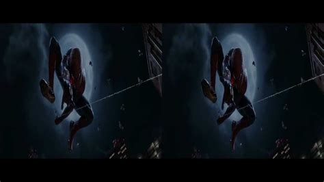 spider man final swing the amazing spider man final swing scene 3d glasses