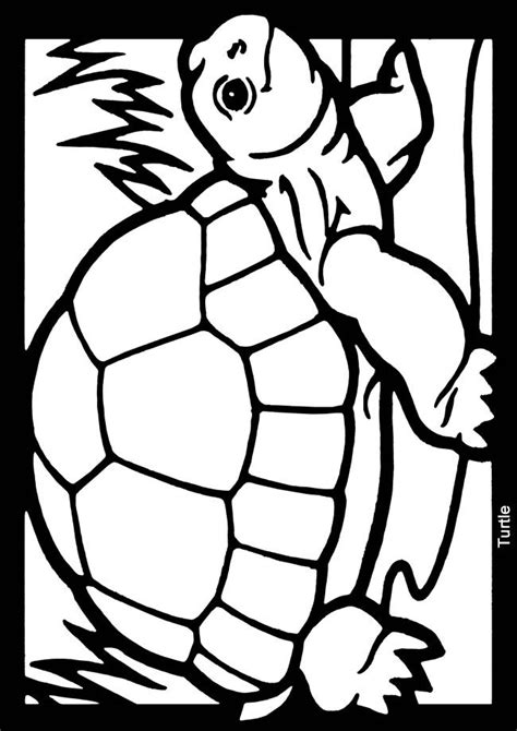 mosaic turtle coloring page 17 best images about patterns frogs and turtles on