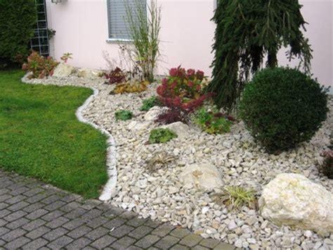Vorgarten Anlegen Mit Steinen 3048 kiesg 228 rten