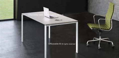 scrivania metallo mobili per ufficio scrivania ufficio cm 160 gambe metallo