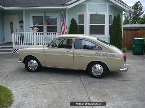 Volkswagen Fastback by 1969 Volkswagen Fastback Base 1 6l