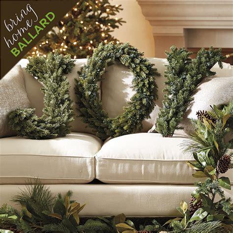 Spruce Alphabet Wreath Ballard Designs