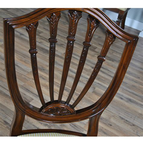 home furniture dining room chairs shield back side