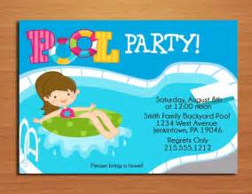free printable birthday pool invitations templates invitetown kenzies