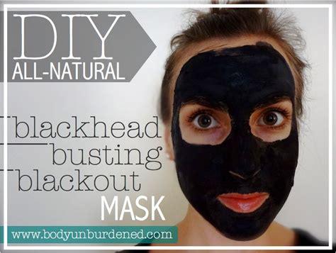 best diy mask for blackheads diy all blackhead busting blackout mask