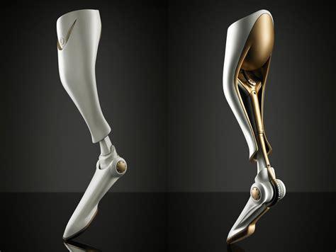 prosthetic leg for a prosthetic leg for bobsled athletes yanko design