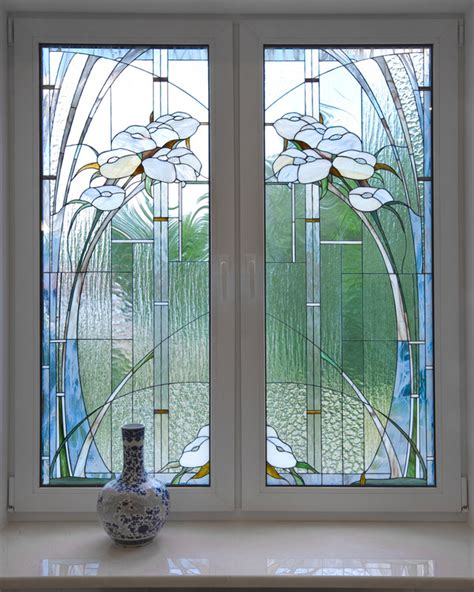 stained glass patterns for bathroom windows vetri per case vetreria pozzi