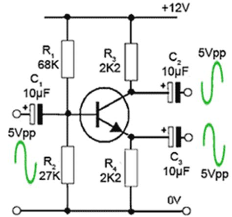 transistor lifier with output transformer push pull lifier drivers