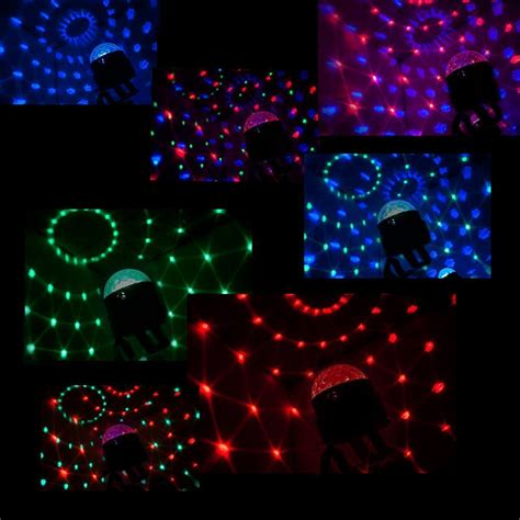 music activated disco lights colour led disco party light mount sound activated strobe