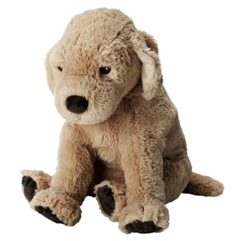 golden retriever with stuffed animal brand new ikea gosig golden retriever soft stuffed animal plush ebay