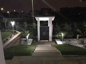 esterne per giardino illuminazione giardino a led da esterno di design