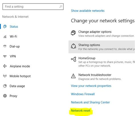 resetting wifi settings fixed wi fi not working on windows 10 laptop or pc problems