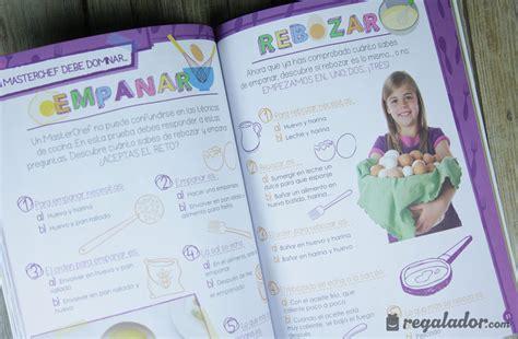 libros para niños junior regalador juega con masterchef junior el libro de cocina para ni 241 os