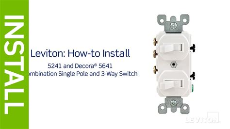 single pole switch wiring methods electrician101 and