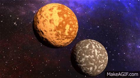 blender planet collision    gif